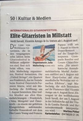 Elite-Gitarristen in Millstatt